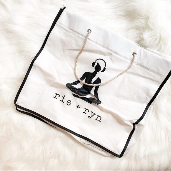 rie + ryn Handbags - Rie + Ryn | Yoga Reusable Tote Bag
